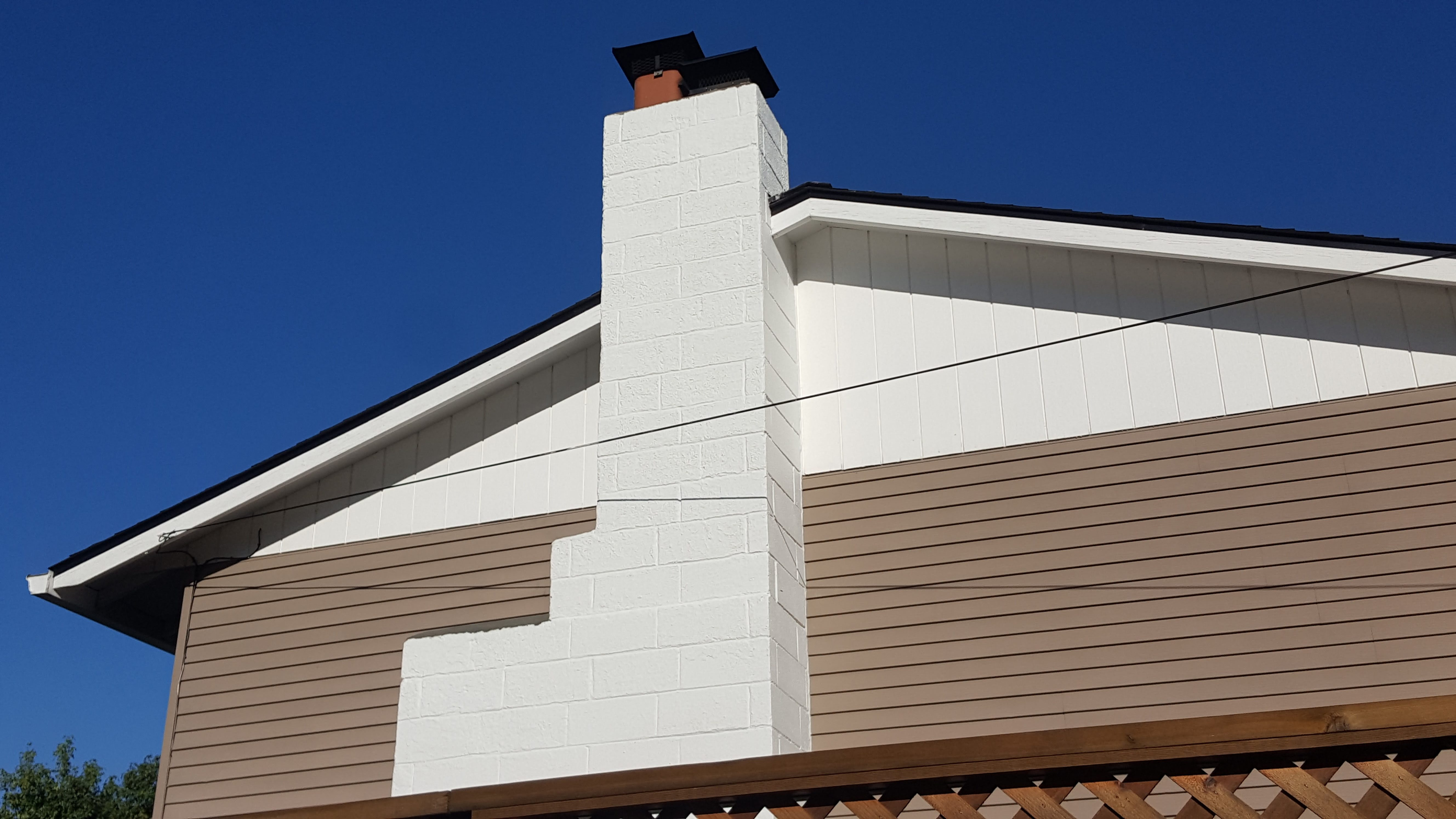 how to build a block chimney